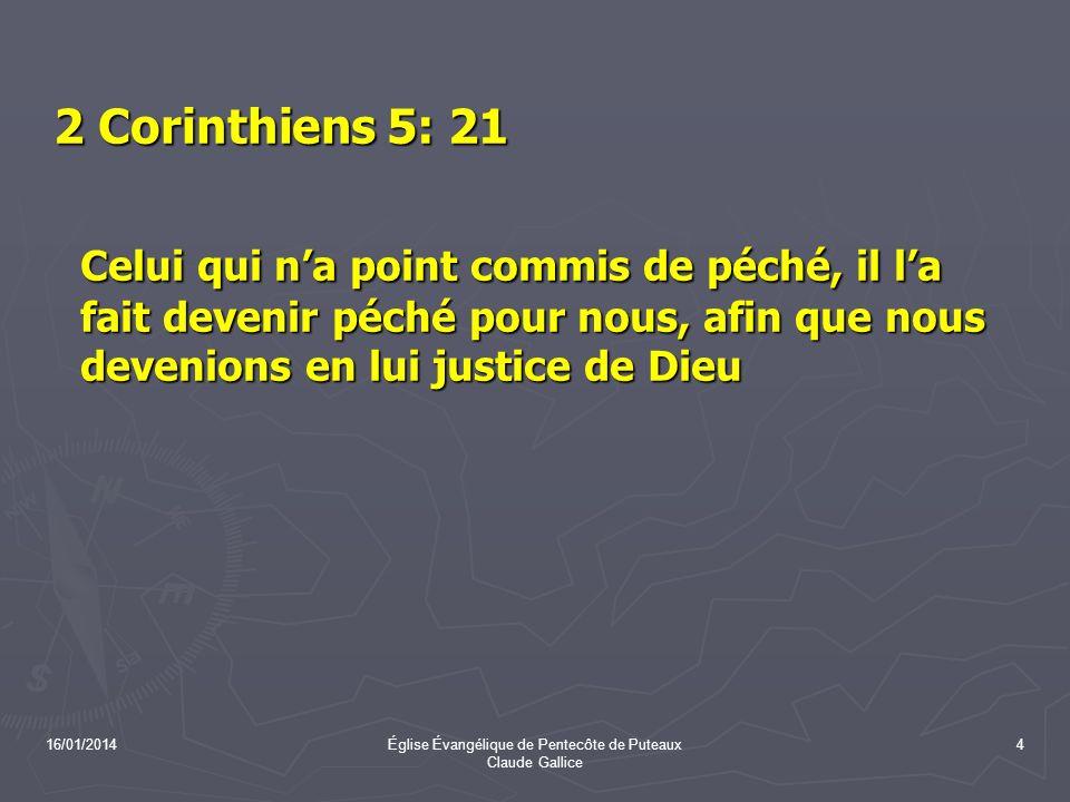 Église Évangélique de Pentecôte de Puteaux Claude Gallice