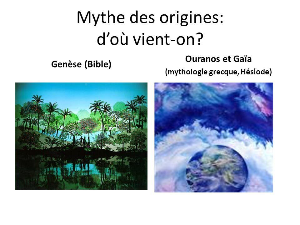 Mythe des origines: d'où vient-on
