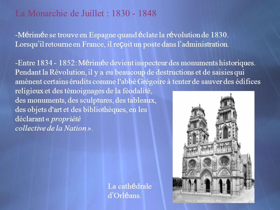La Monarchie de Juillet : 1830 - 1848