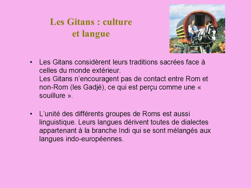 Les Gitans : culture et langue
