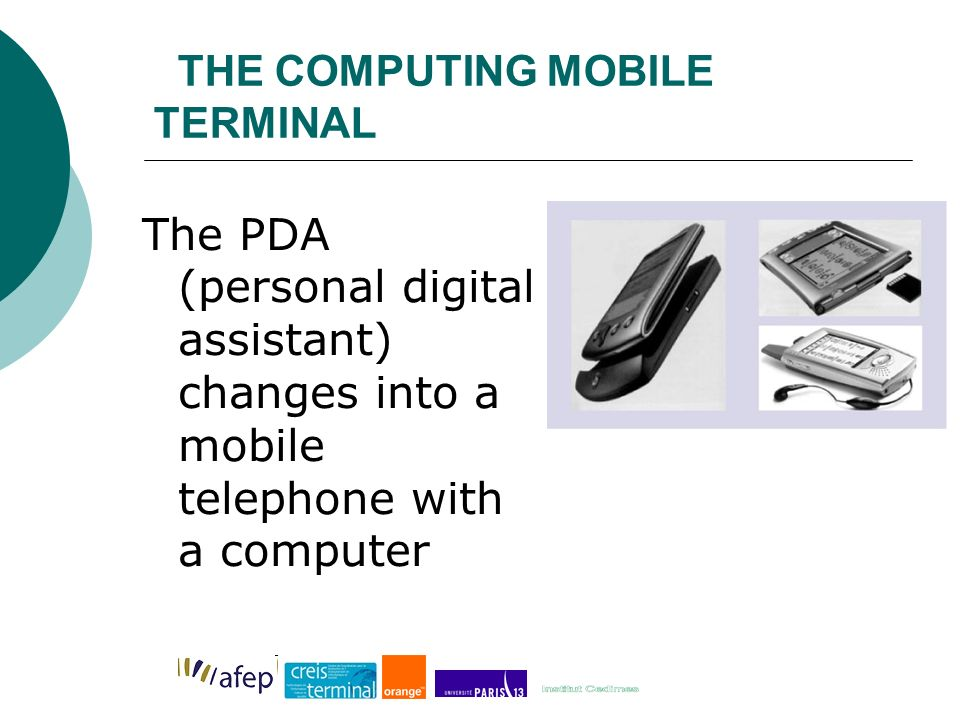 THE COMPUTING MOBILE TERMINAL