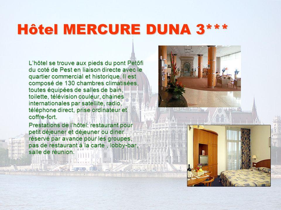 Hôtel MERCURE DUNA 3***