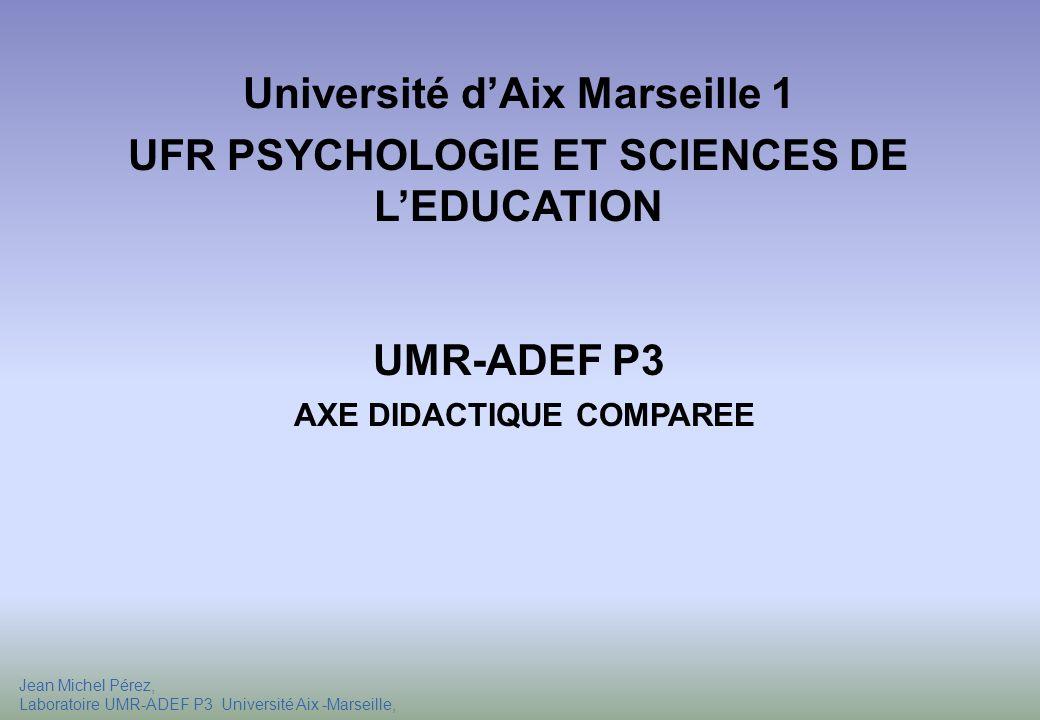 Université d'Aix Marseille 1