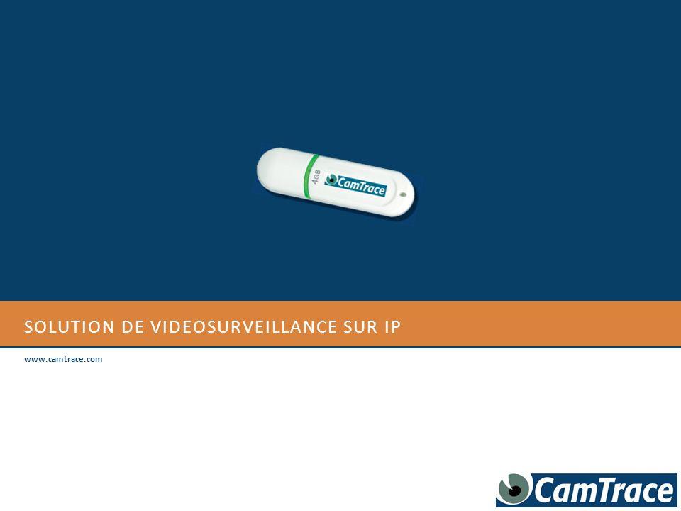 SOLUTION DE VIDEOSURVEILLANCE SUR ip
