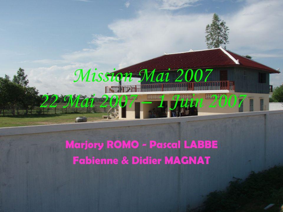 Marjory ROMO - Pascal LABBE Fabienne & Didier MAGNAT
