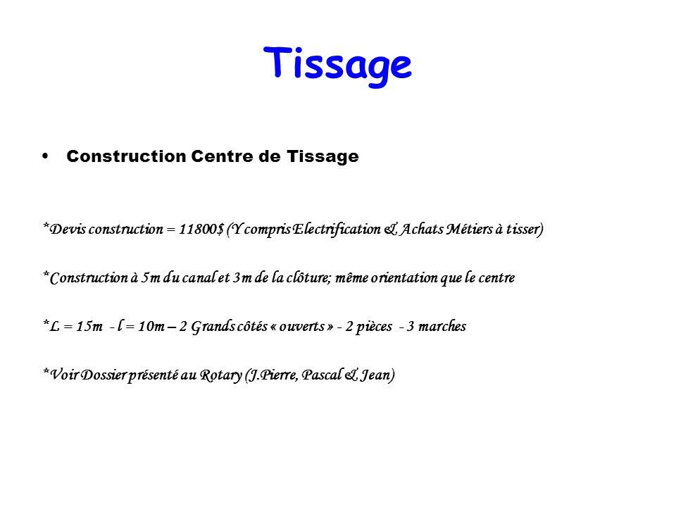 Tissage Construction Centre de Tissage