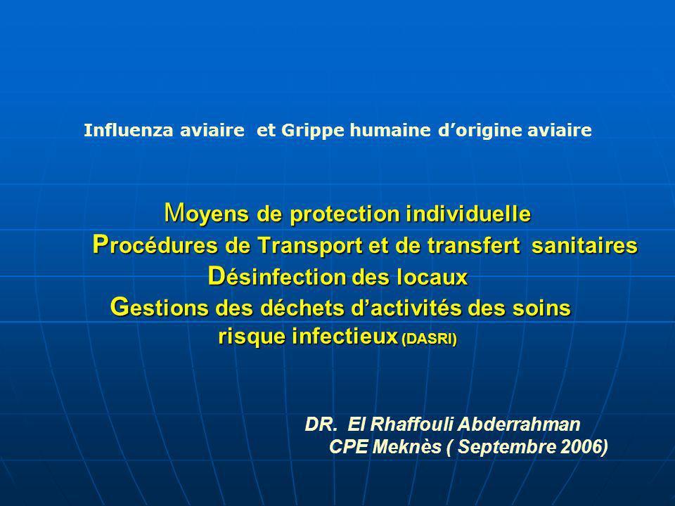 DR. El Rhaffouli Abderrahman CPE Meknès ( Septembre 2006)