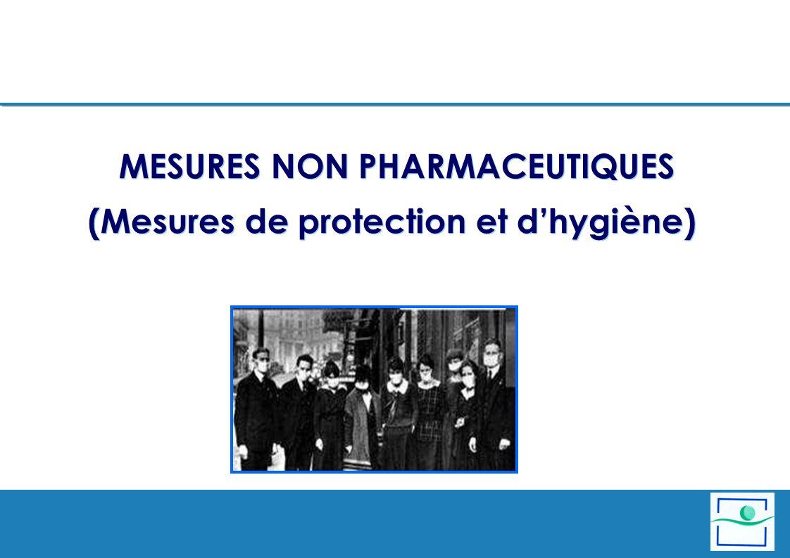MESURES NON PHARMACEUTIQUES (Mesures de protection et d'hygiène)