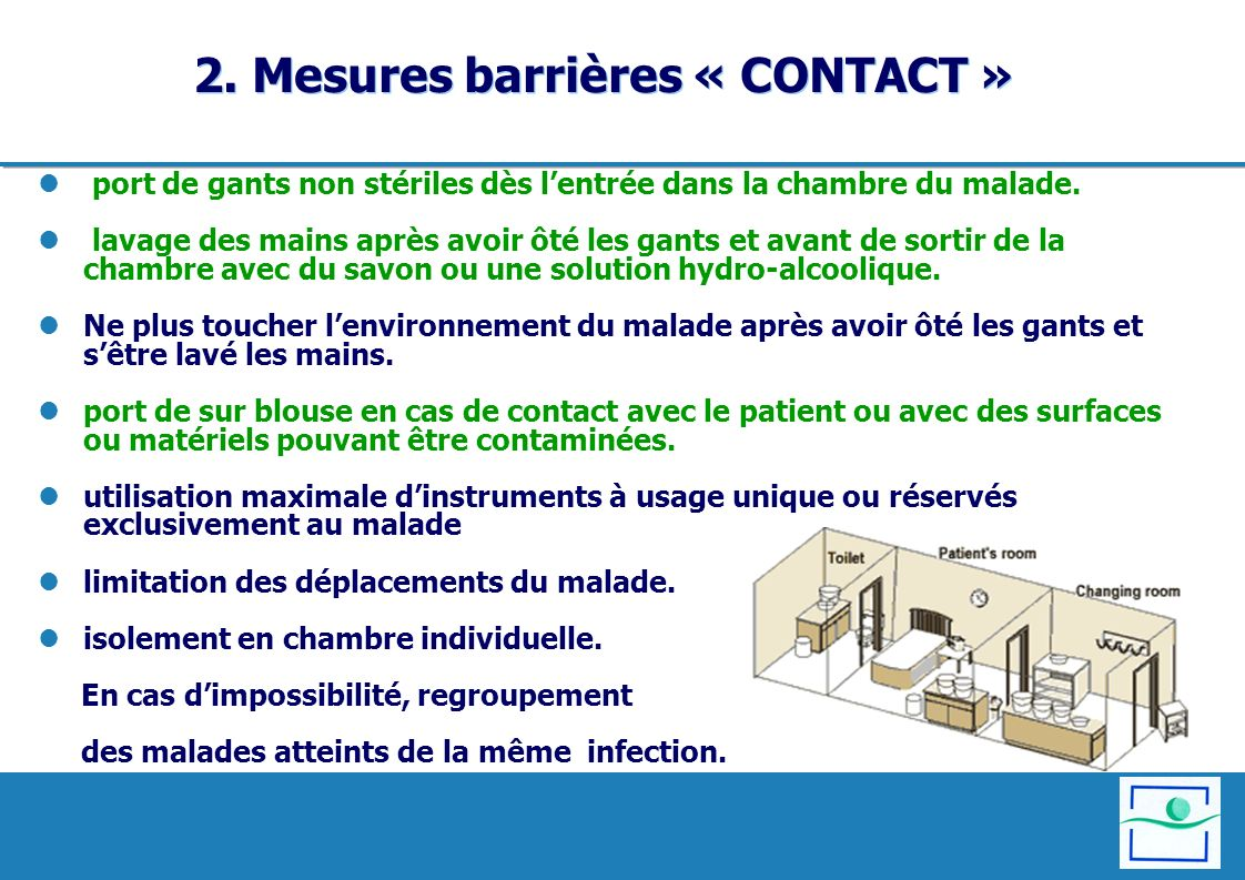 2. Mesures barrières « CONTACT »