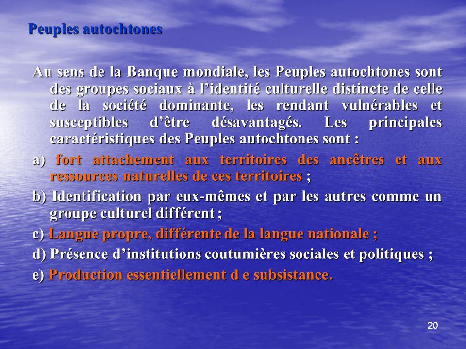Peuples autochtones