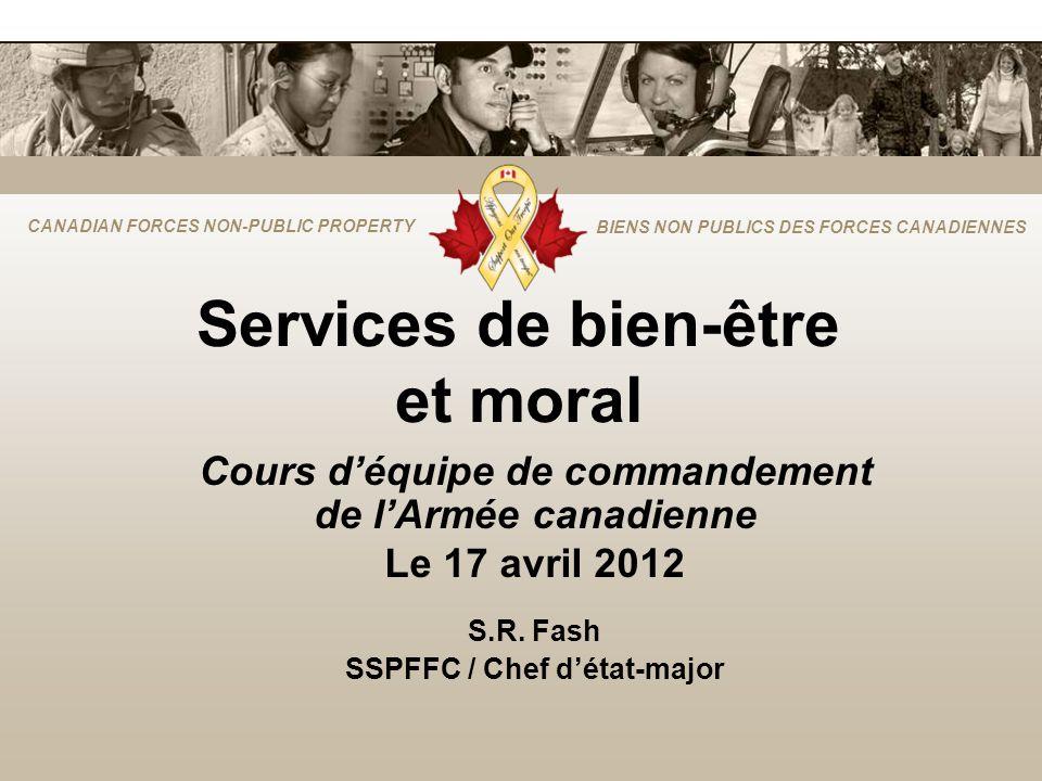 Services de bien-être et moral