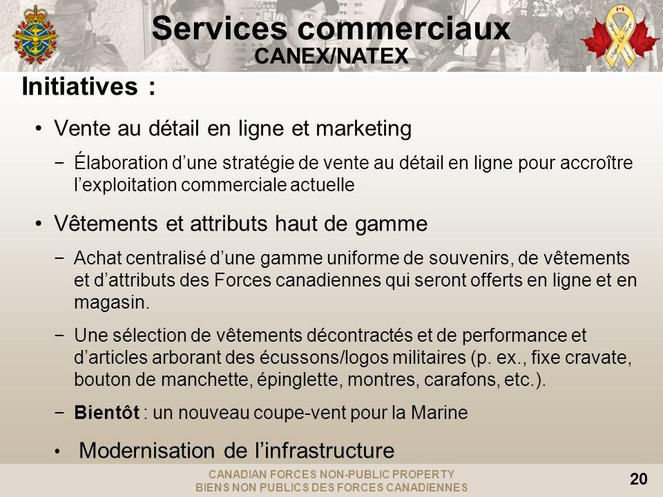 Services commerciaux CANEX/NATEX