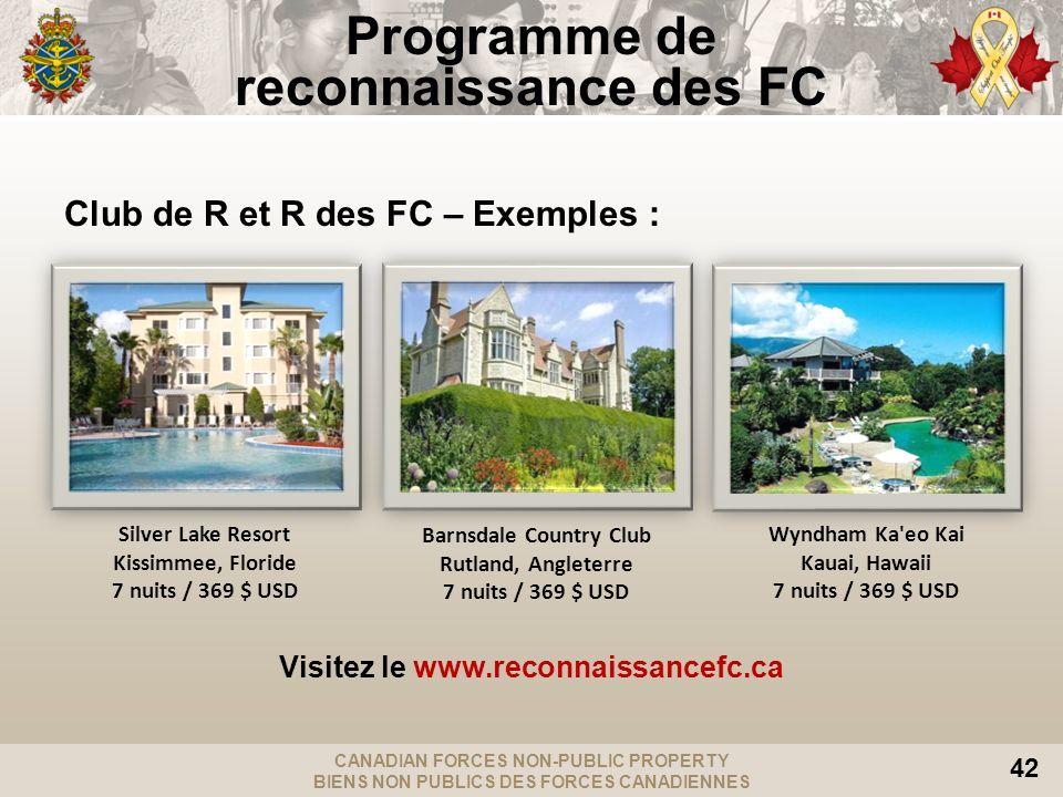 Programme de reconnaissance des FC