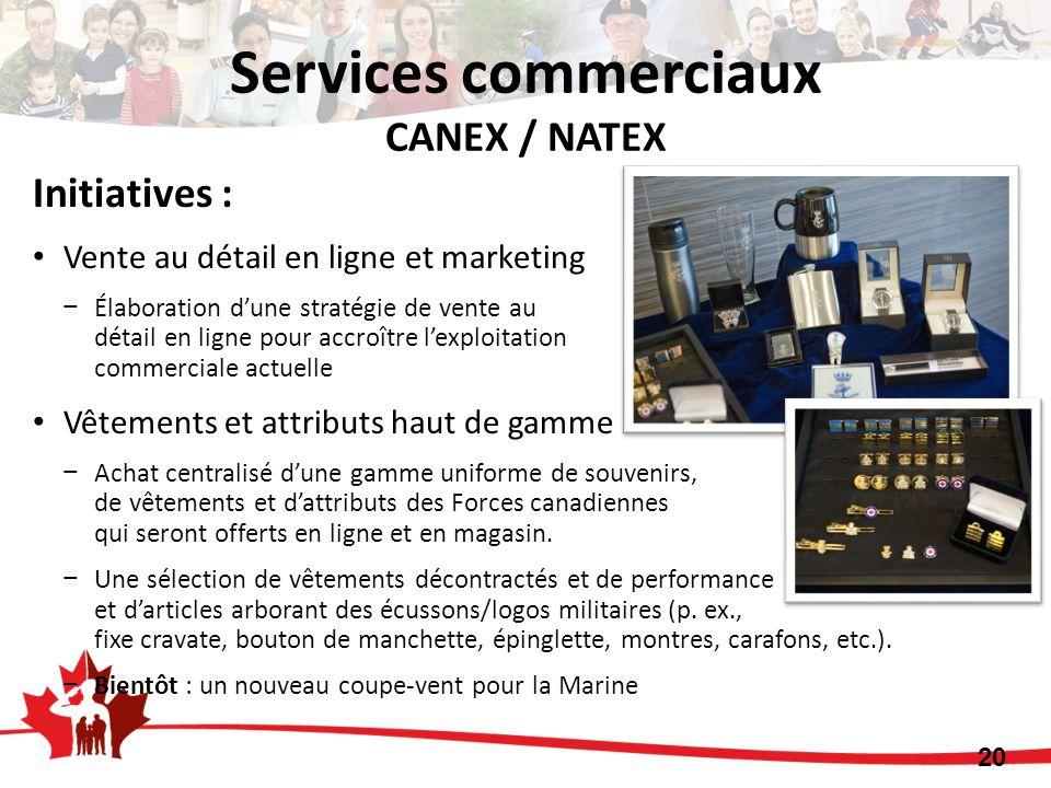 Services commerciaux CANEX / NATEX