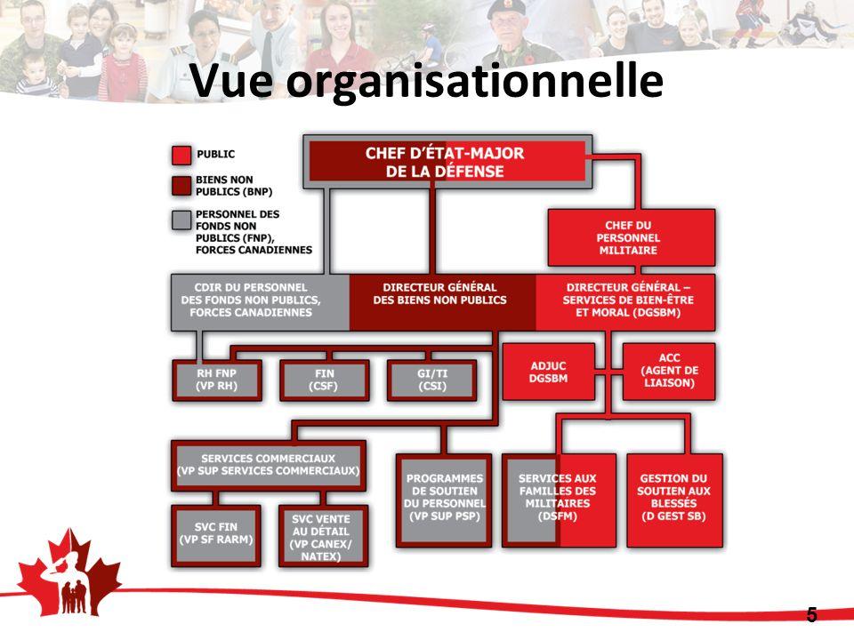 Vue organisationnelle