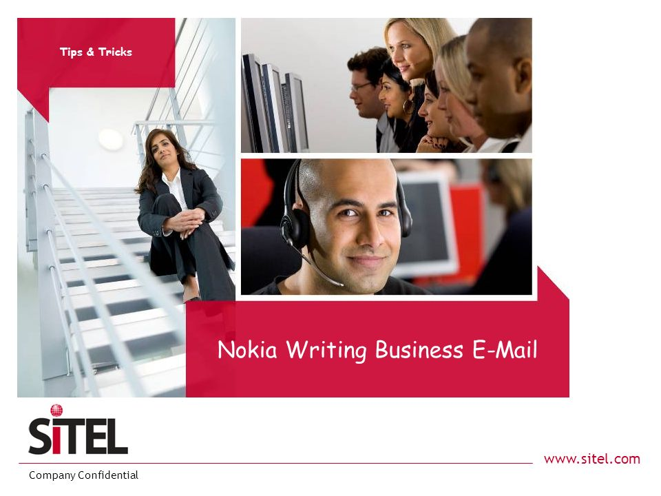 Nokia Writing Business E-Mail
