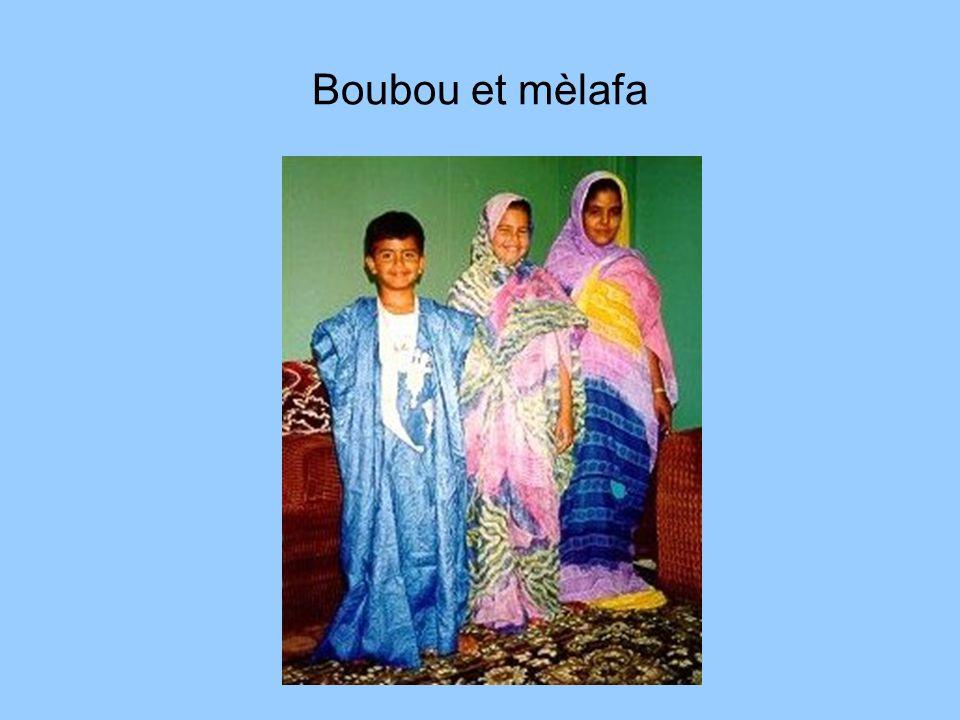 Boubou et mèlafa