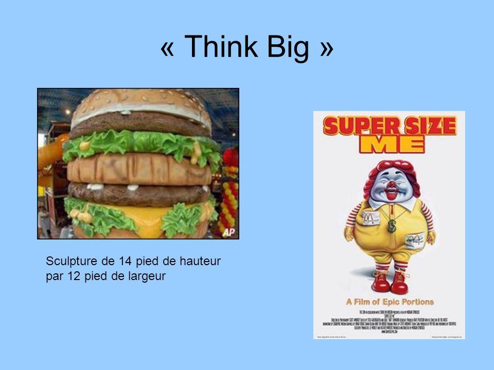 « Think Big » Sculpture de 14 pied de hauteur par 12 pied de largeur