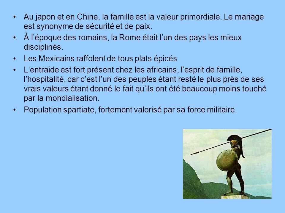 Au japon et en Chine, la famille est la valeur primordiale
