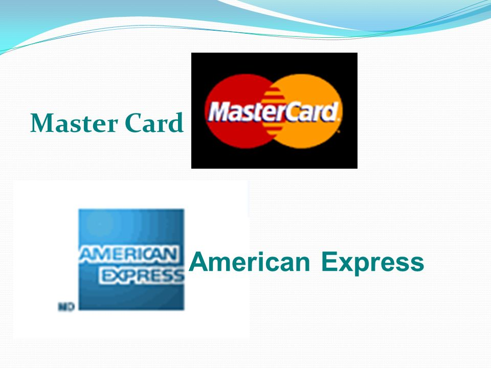 Master Card American Express