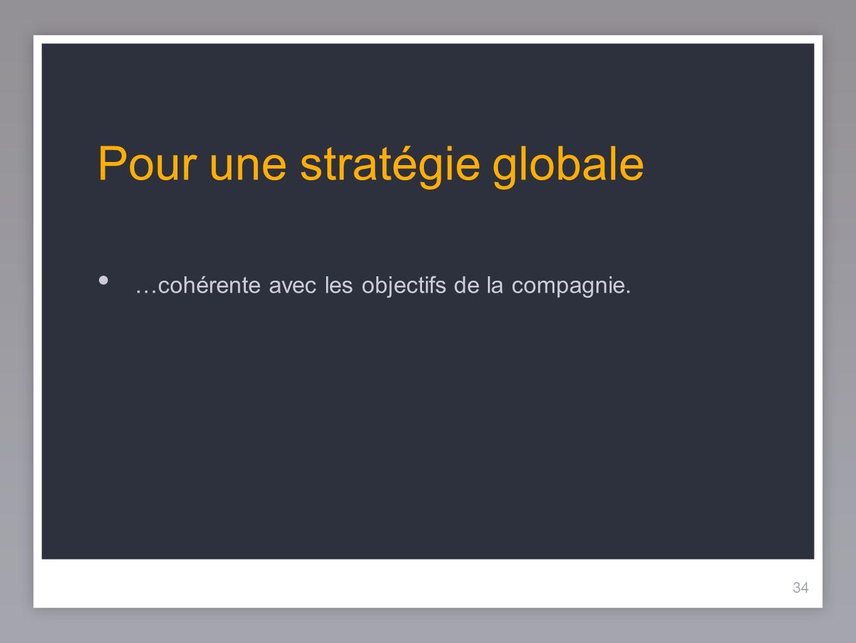 Pour une stratégie globale