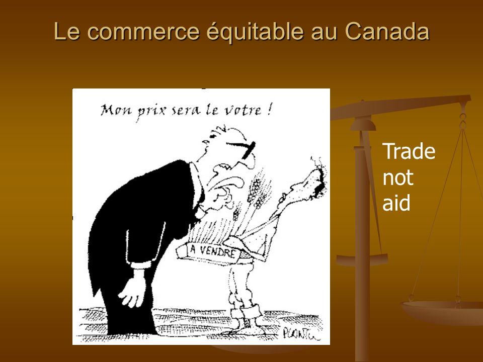 Le commerce équitable au Canada