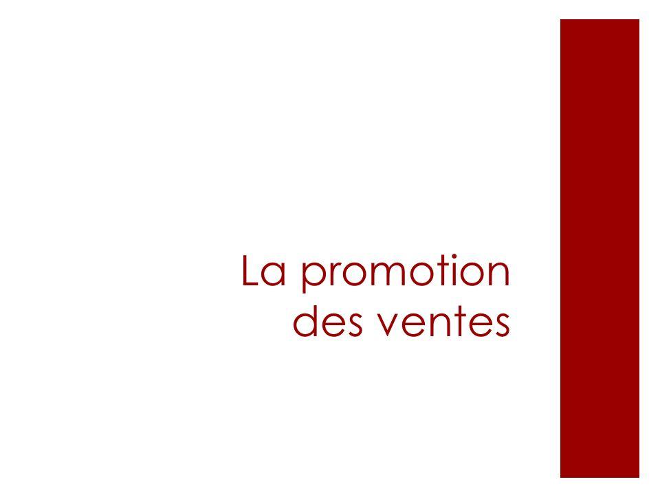 La promotion des ventes