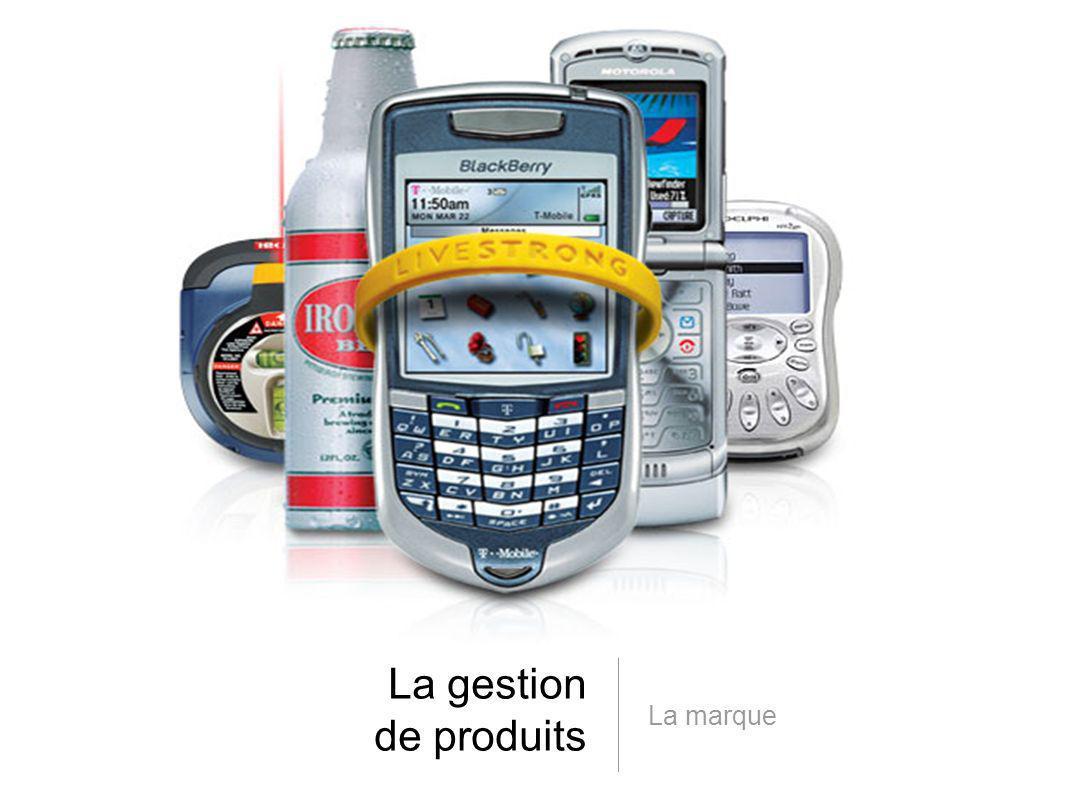 La gestion de produits La marque