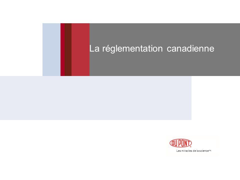 La réglementation canadienne
