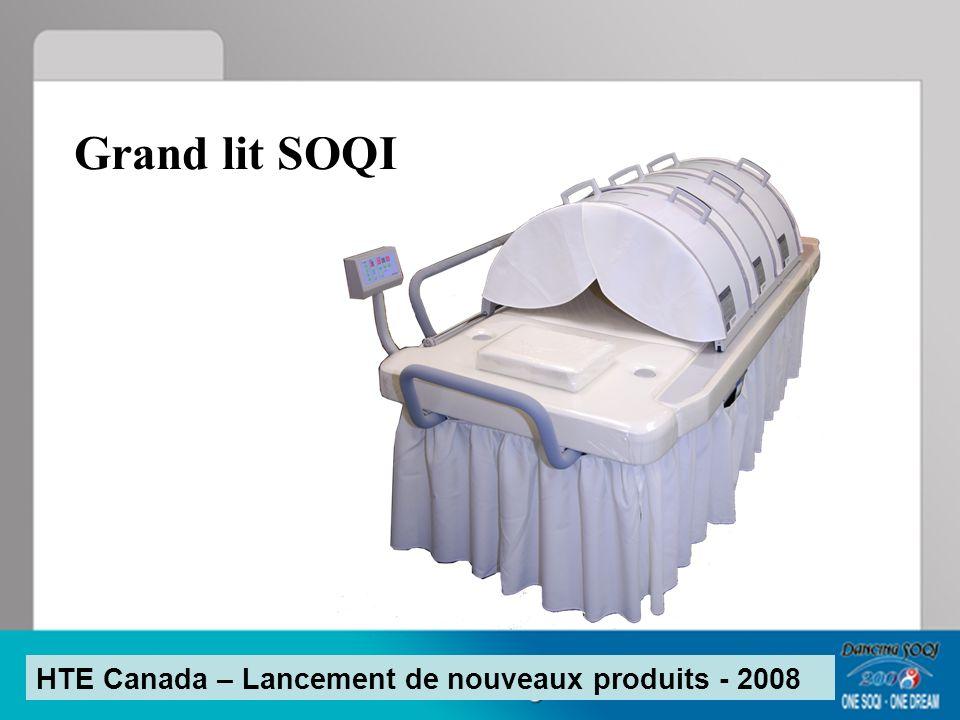 Grand lit SOQI HTE Canada – Lancement de nouveaux produits - 2008