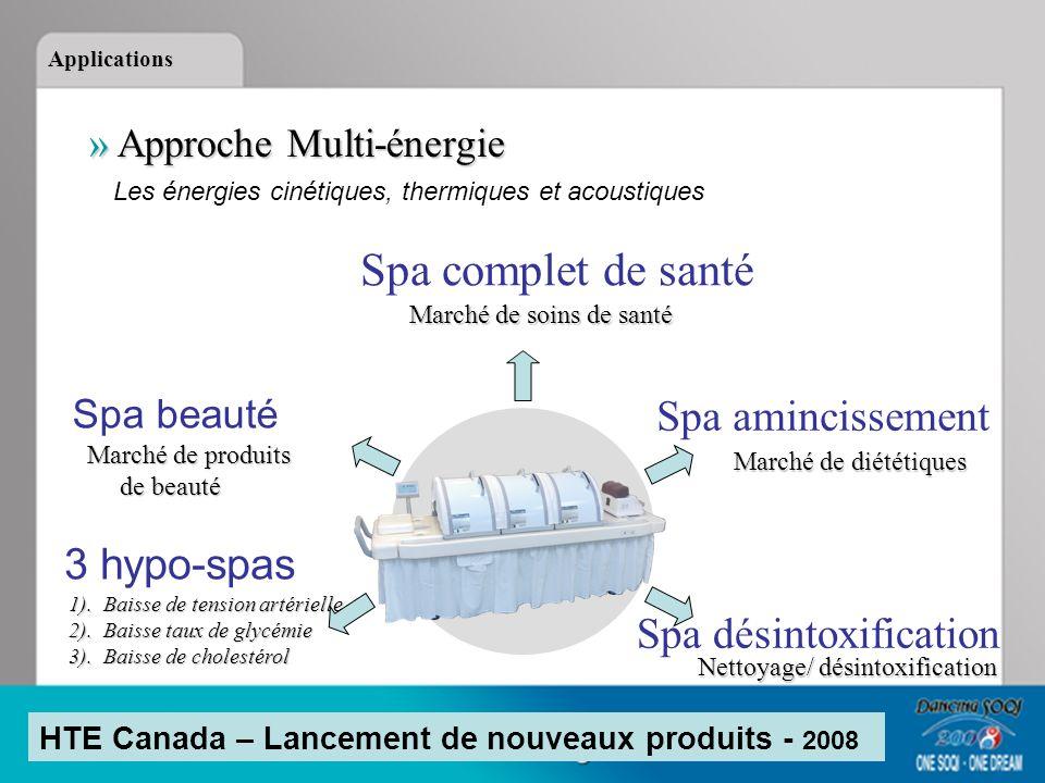 Spa complet de santé Spa amincissement 3 hypo-spas