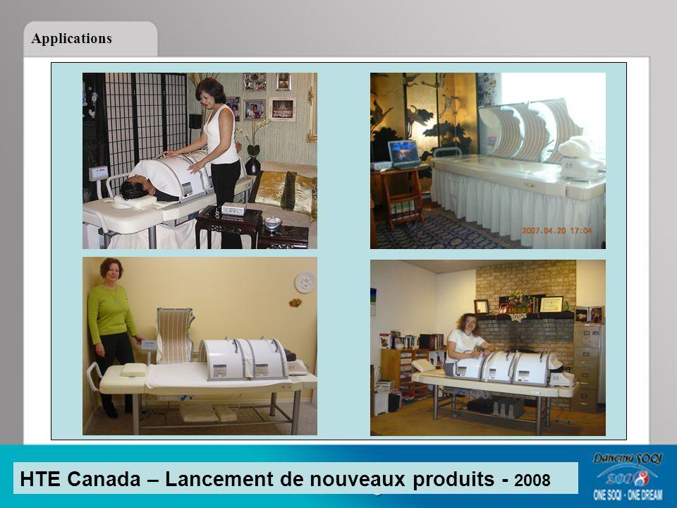 HTE Canada – Lancement de nouveaux produits - 2008