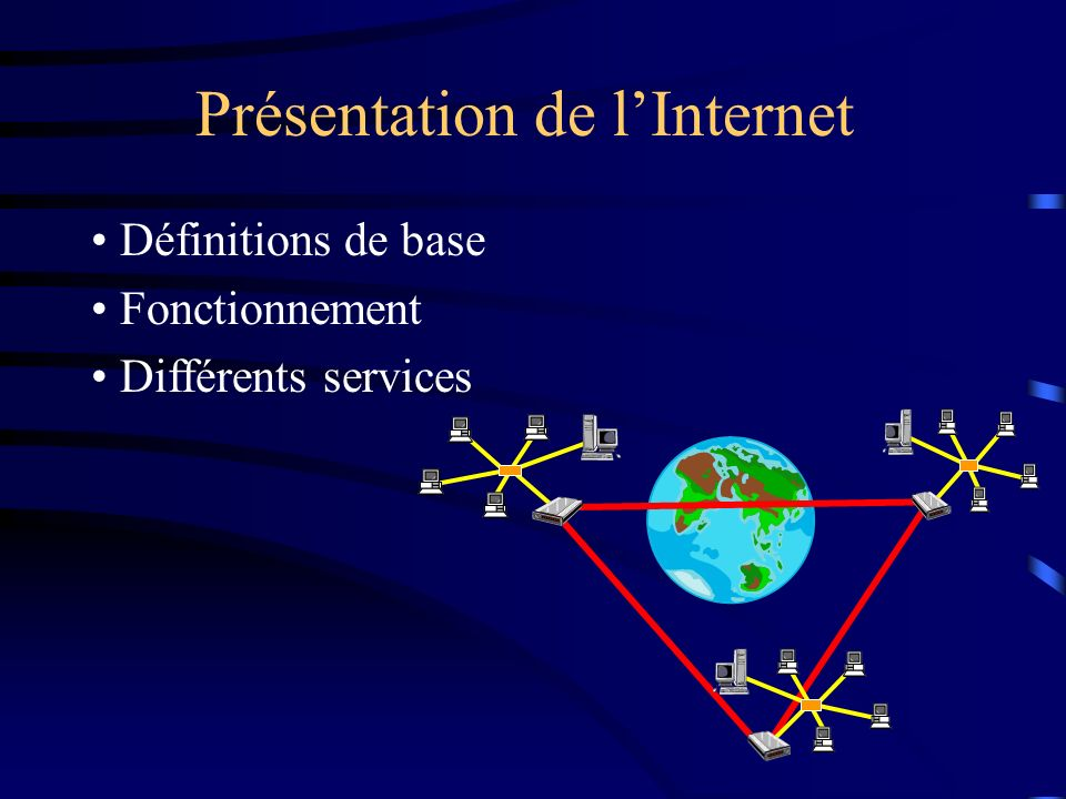 Présentation de l'Internet