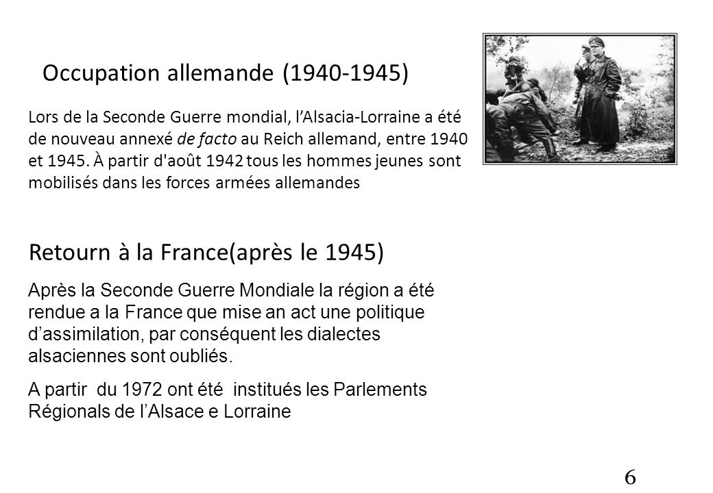 Occupation allemande ( )