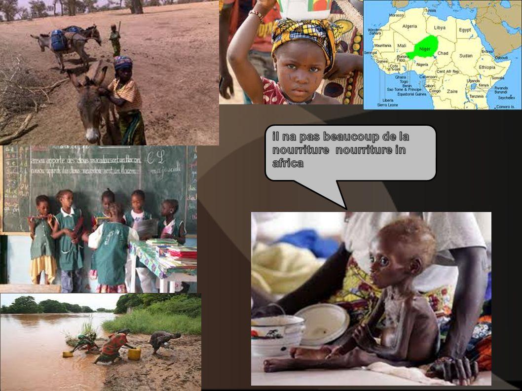 il na pas beaucoup de la nourriture nourriture in africa