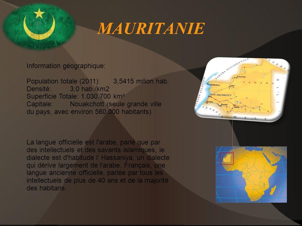 MAURITANIE Information géographique: