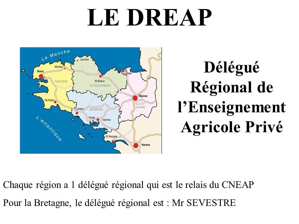Délégué Régional de l'Enseignement Agricole Privé