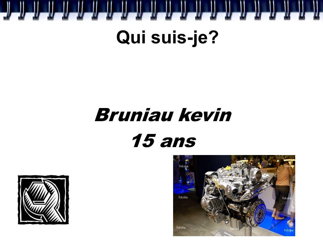 Qui suis-je Bruniau kevin 15 ans