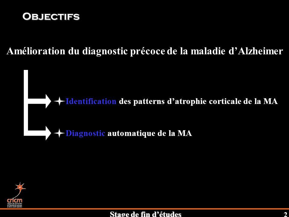 Amélioration du diagnostic précoce de la maladie d'Alzheimer