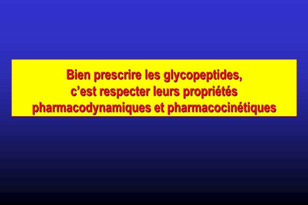 Bien prescrire les glycopeptides,