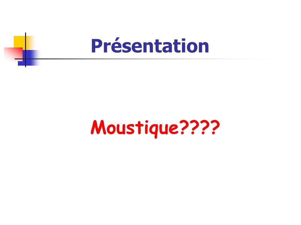 Présentation Moustique