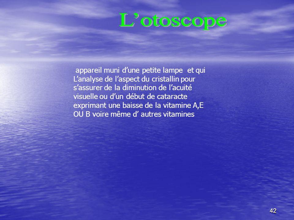 L'otoscope