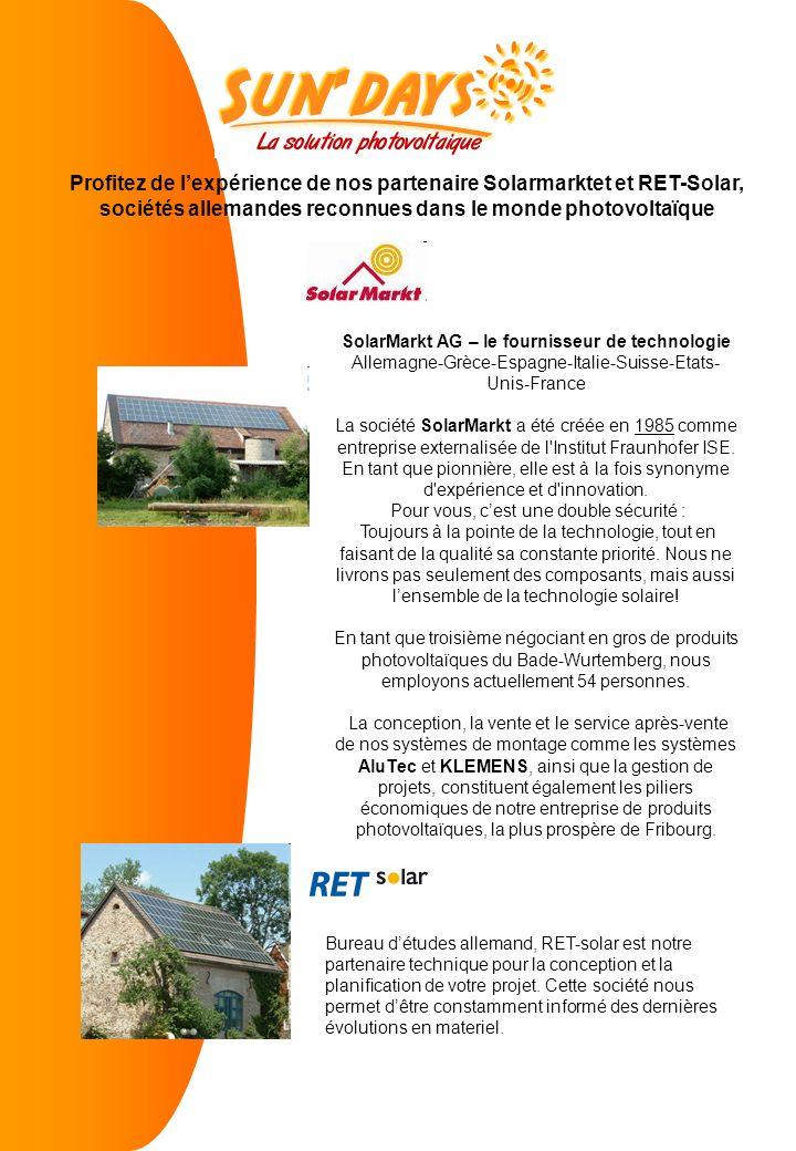 SolarMarkt AG – le fournisseur de technologie