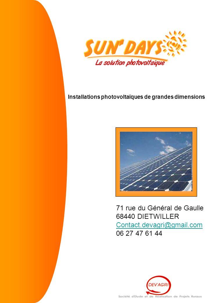 71 rue du Général de Gaulle 68440 DIETWILLER Contact.devagri@gmail.com