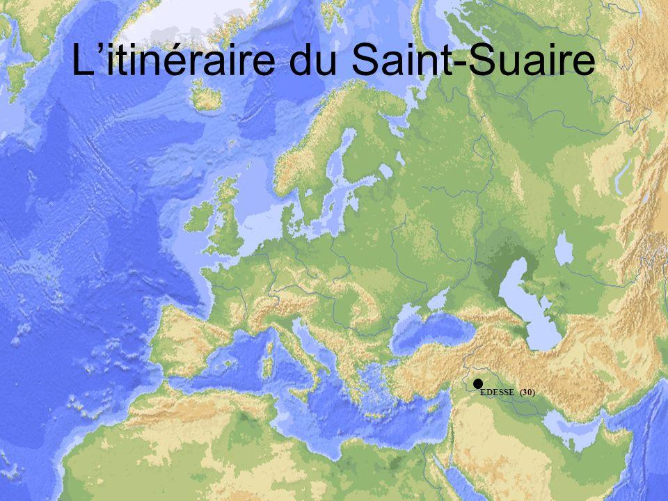 L'itinéraire du Saint-Suaire