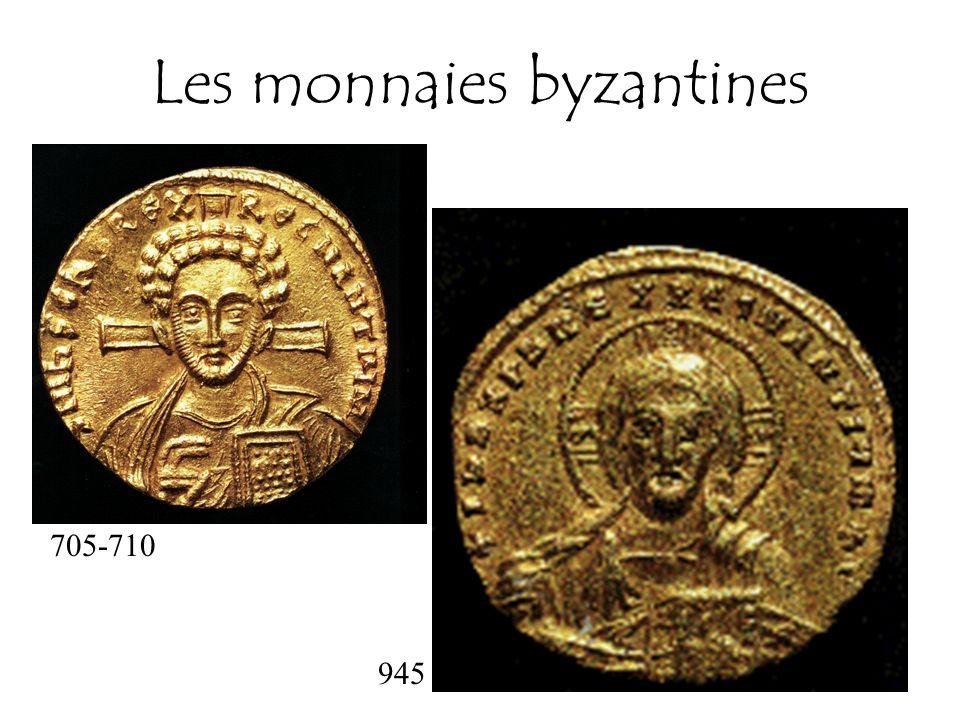 Les monnaies byzantines