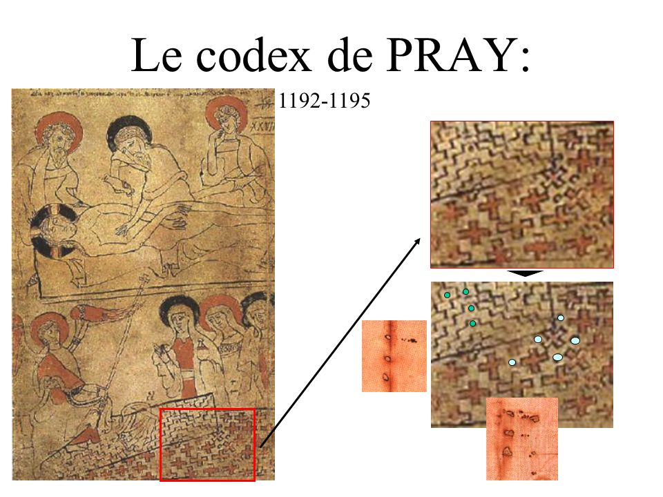 Le codex de PRAY: 1192-1195
