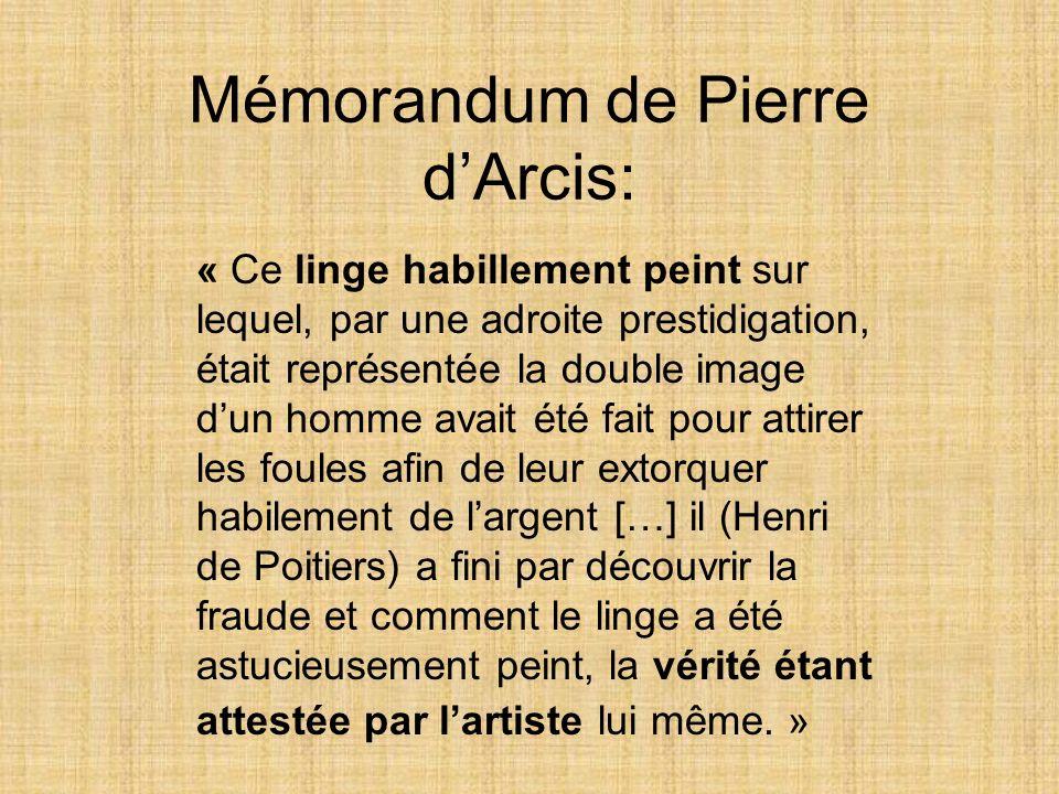 Mémorandum de Pierre d'Arcis: