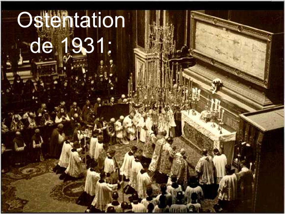 Ostentation de 1931: