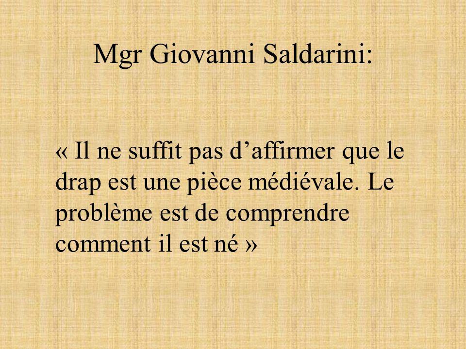 Mgr Giovanni Saldarini: